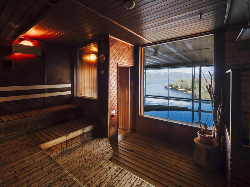 【Karakami HOTELS&RESORTS】 ニュー阿寒ホテル サウナ室①
