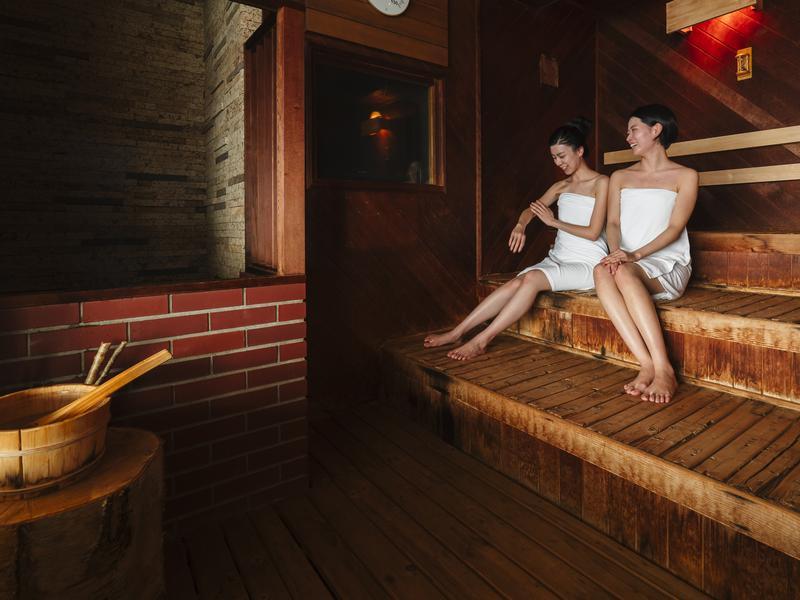 【Karakami HOTELS&RESORTS】 ニュー阿寒ホテル サウナ室②