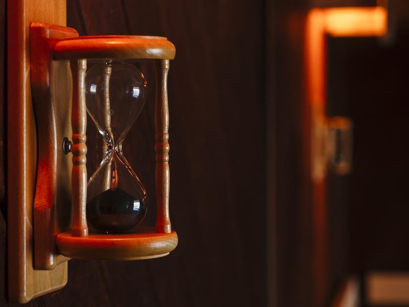 【Karakami HOTELS&RESORTS】 ニュー阿寒ホテル 砂時計(5分計)
