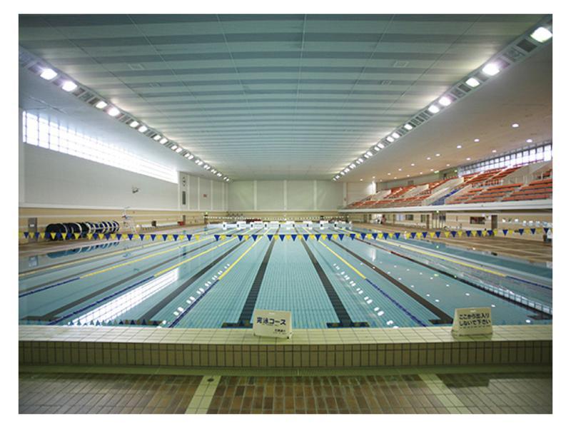 札幌市平岸プール 水風呂(50mプール)