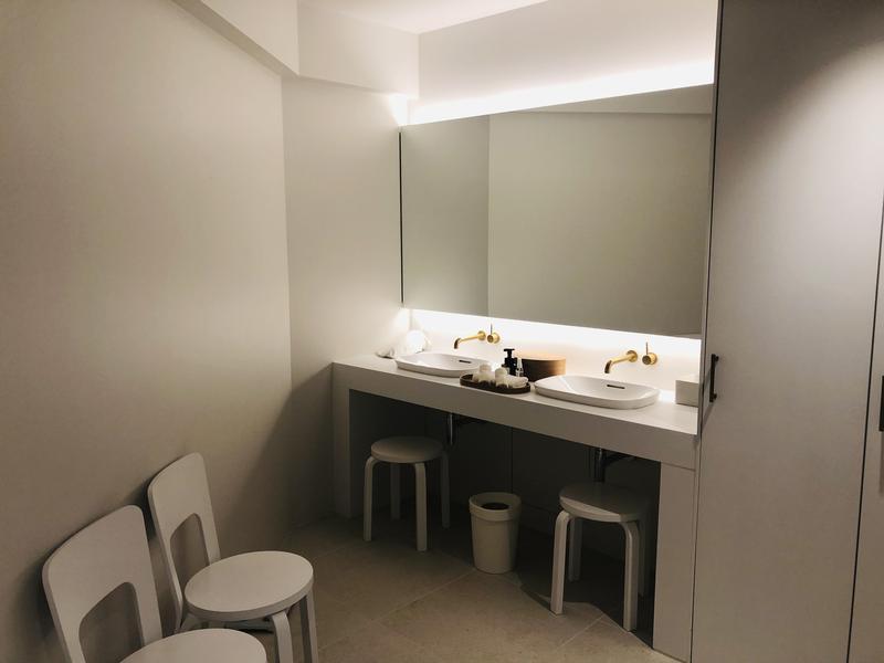 SHIROIYA HOTEL 白井屋ホテル 更衣室