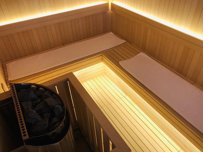 SHIROIYA HOTEL 白井屋ホテル 貸切サウナ室
