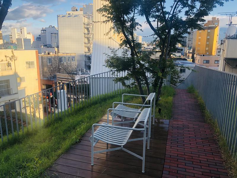 SHIROIYA HOTEL 白井屋ホテル 外気浴スペース